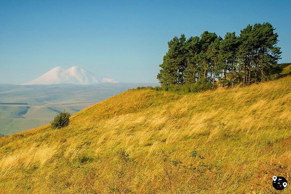 Вид с горы Большое Седло, Кисловодск
