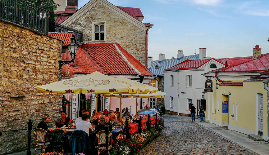 Дорога в Верхний город, Таллин