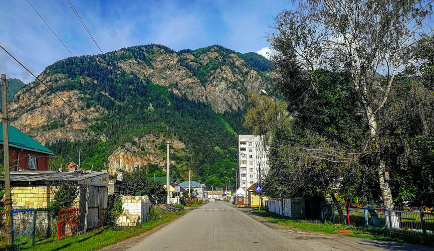 Поселок Теберда