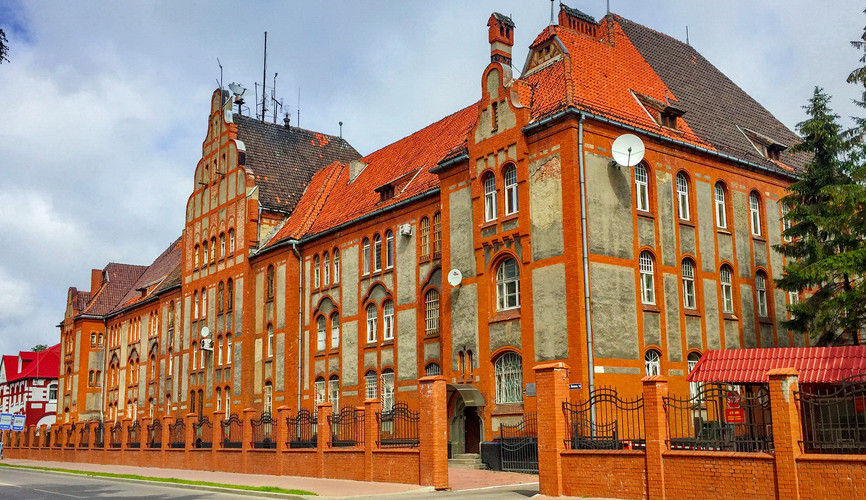 Старый центр Балтийска