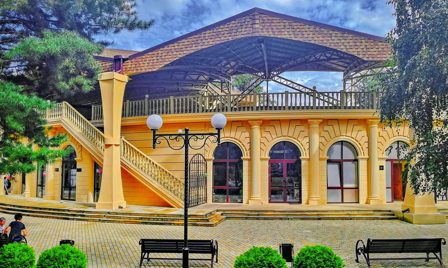 Зеленый театр, Черкесск