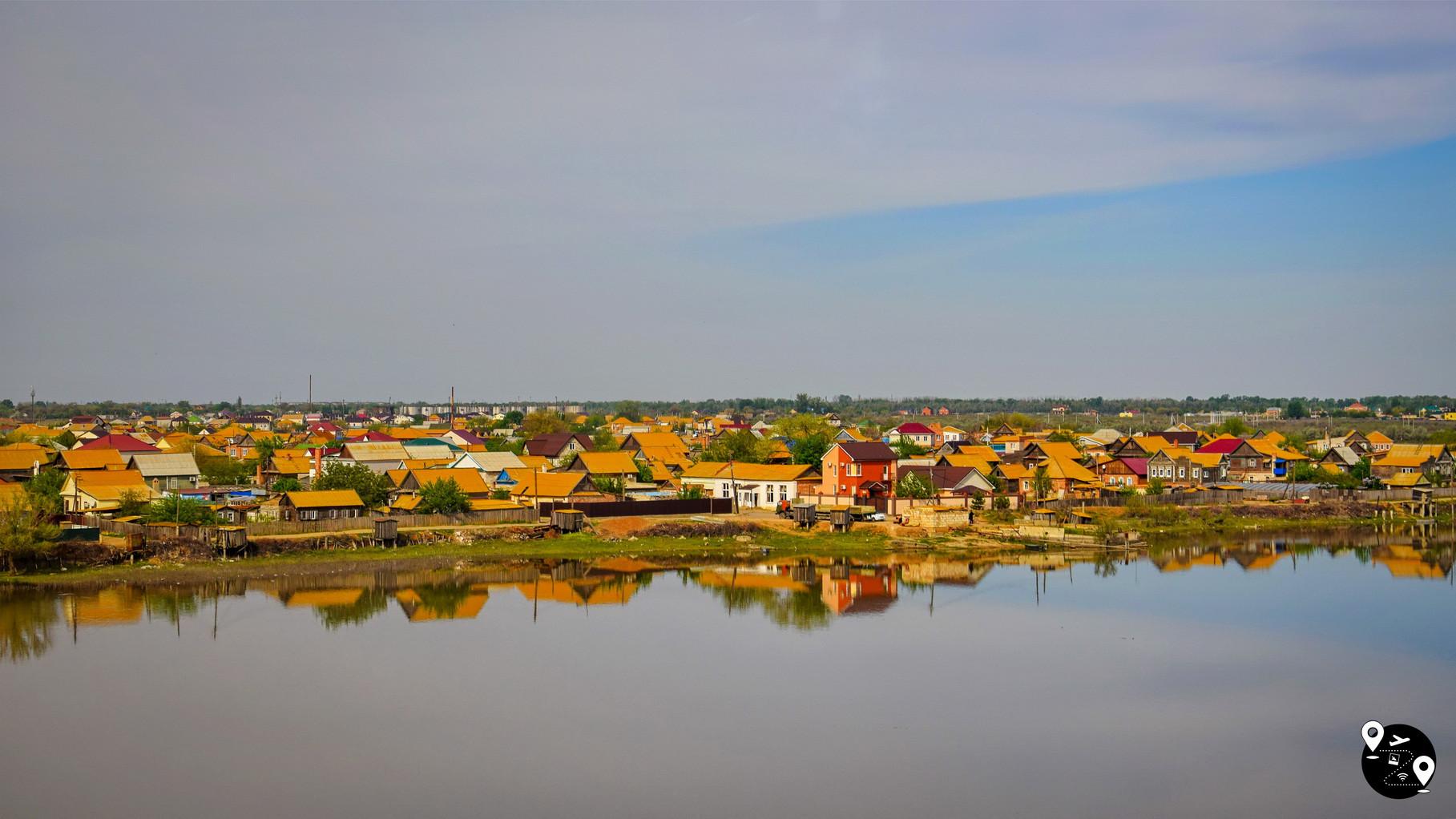 Поселения рыбаков в Астраханской области