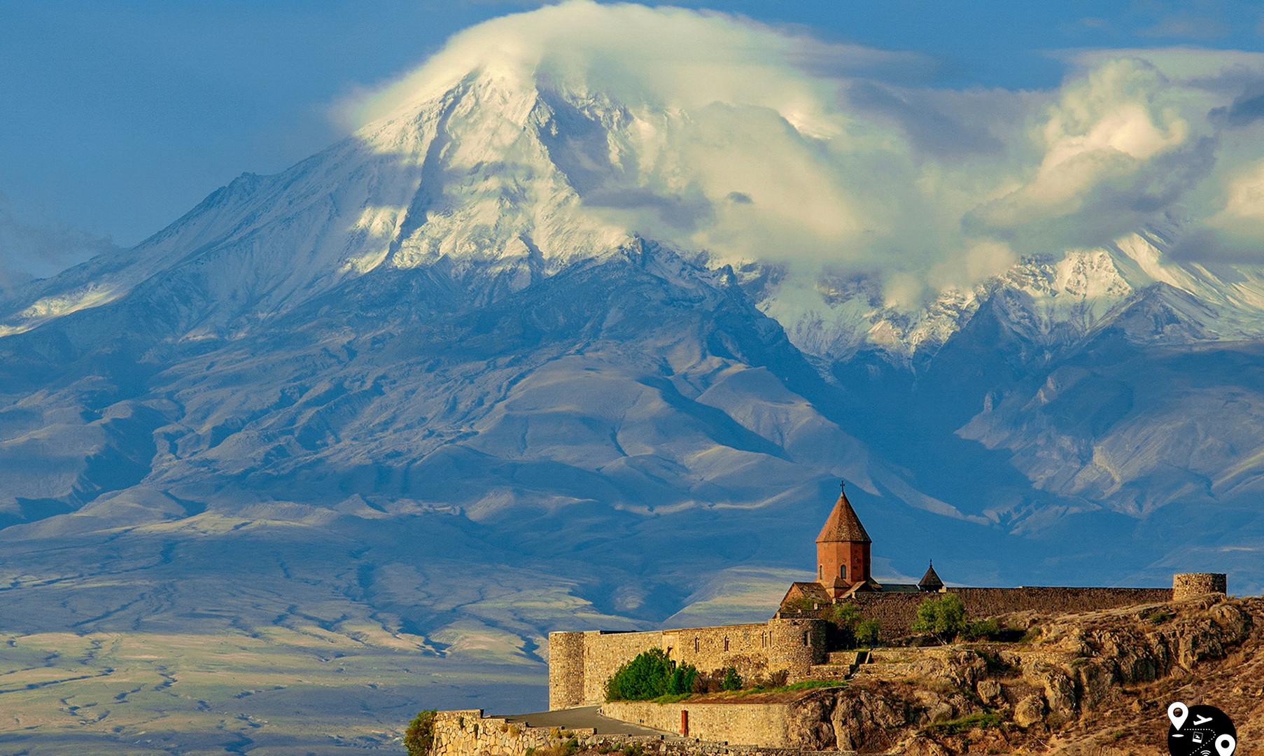 Монастырь Хор-Вирап и гора Арарат