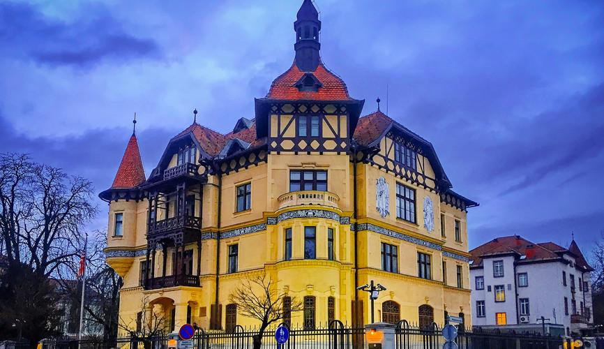 Посольство США в Любляне