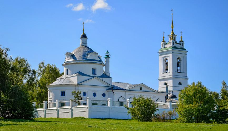 Казанская церковь, Константиново