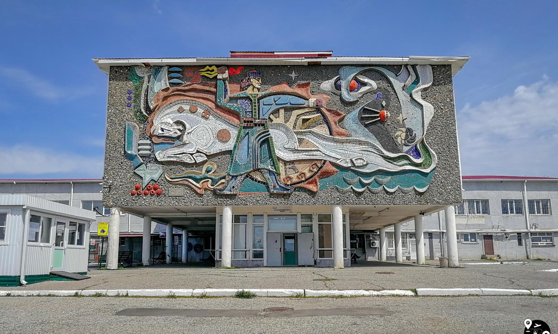 Автовокзал в Элисте