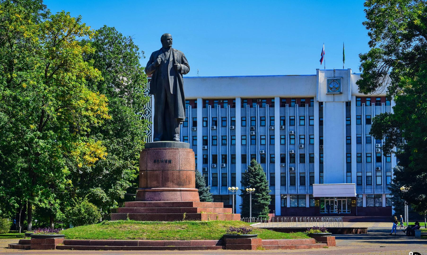 Площадь Ленина в Майкопе
