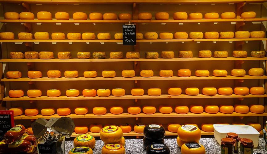 Фабрика сыра в Волендаме