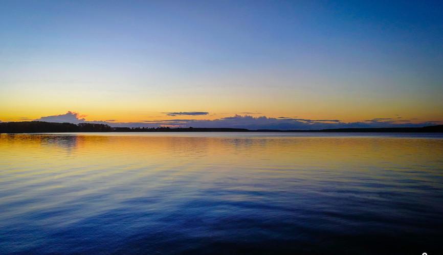 Река Волга в Калязине