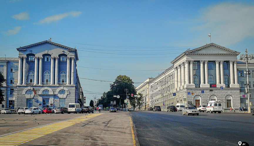 Красная площадь, Курск