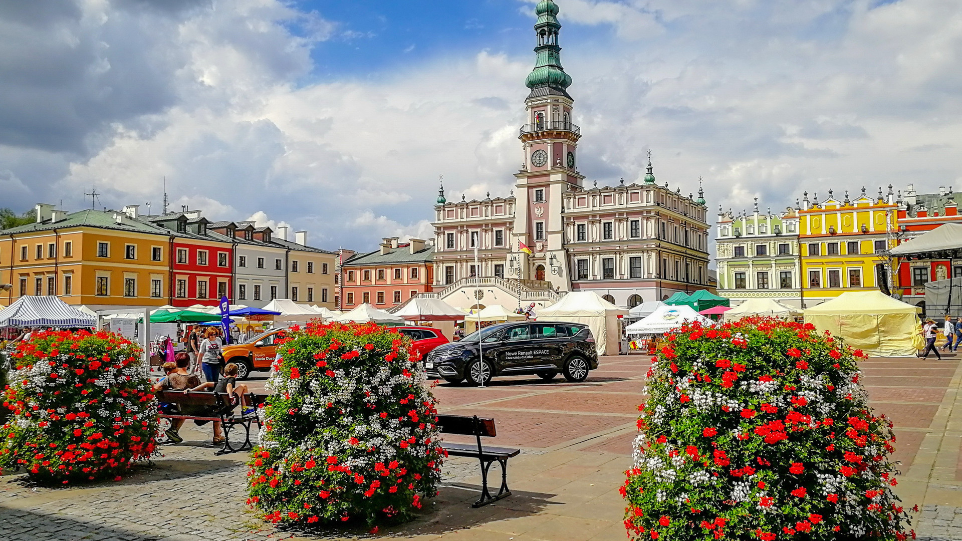 Рыночная площадь Замосць