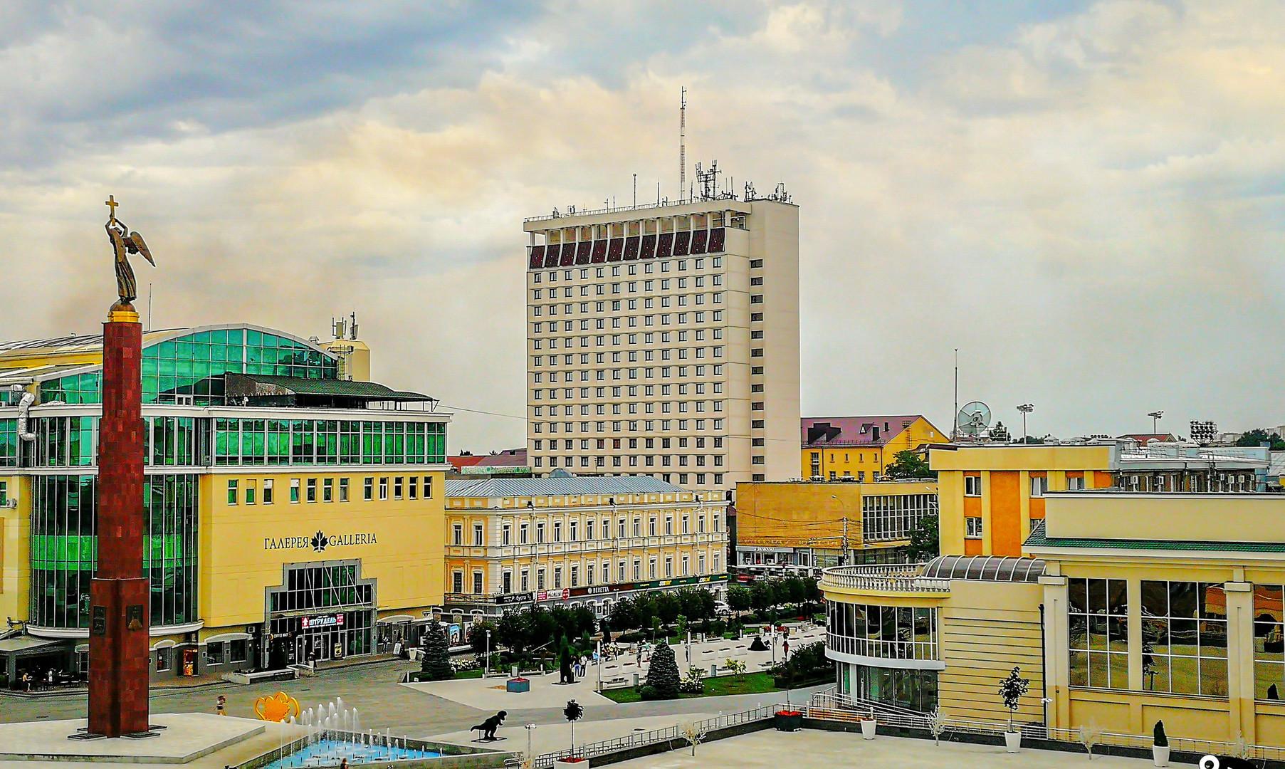 Александровская площадь, Ставрополь