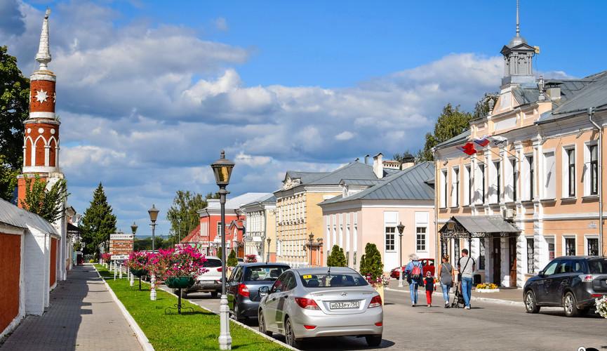 Старый город Коломны