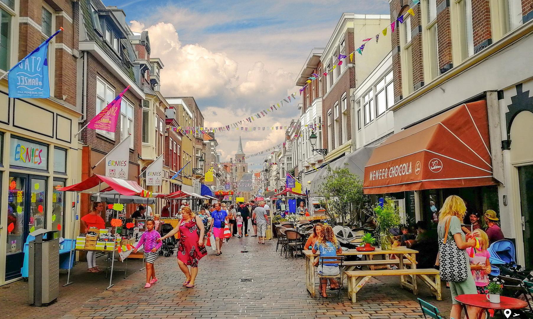 Курортный город Схевенинген
