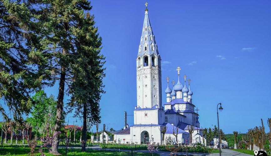 Крестовоздвиженский собор, Палех