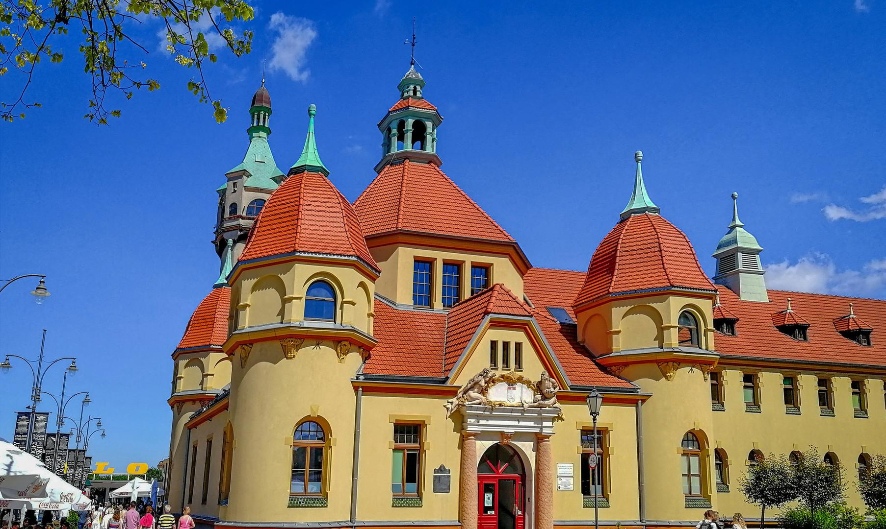 Центр города Сопот