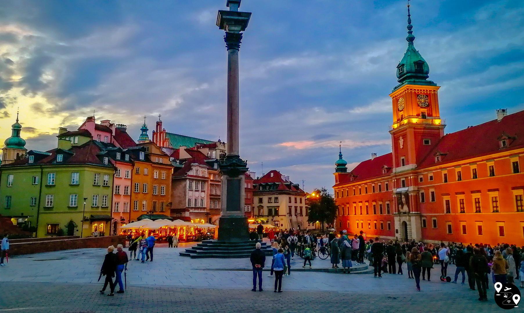 Замковая площадь в Варшаве