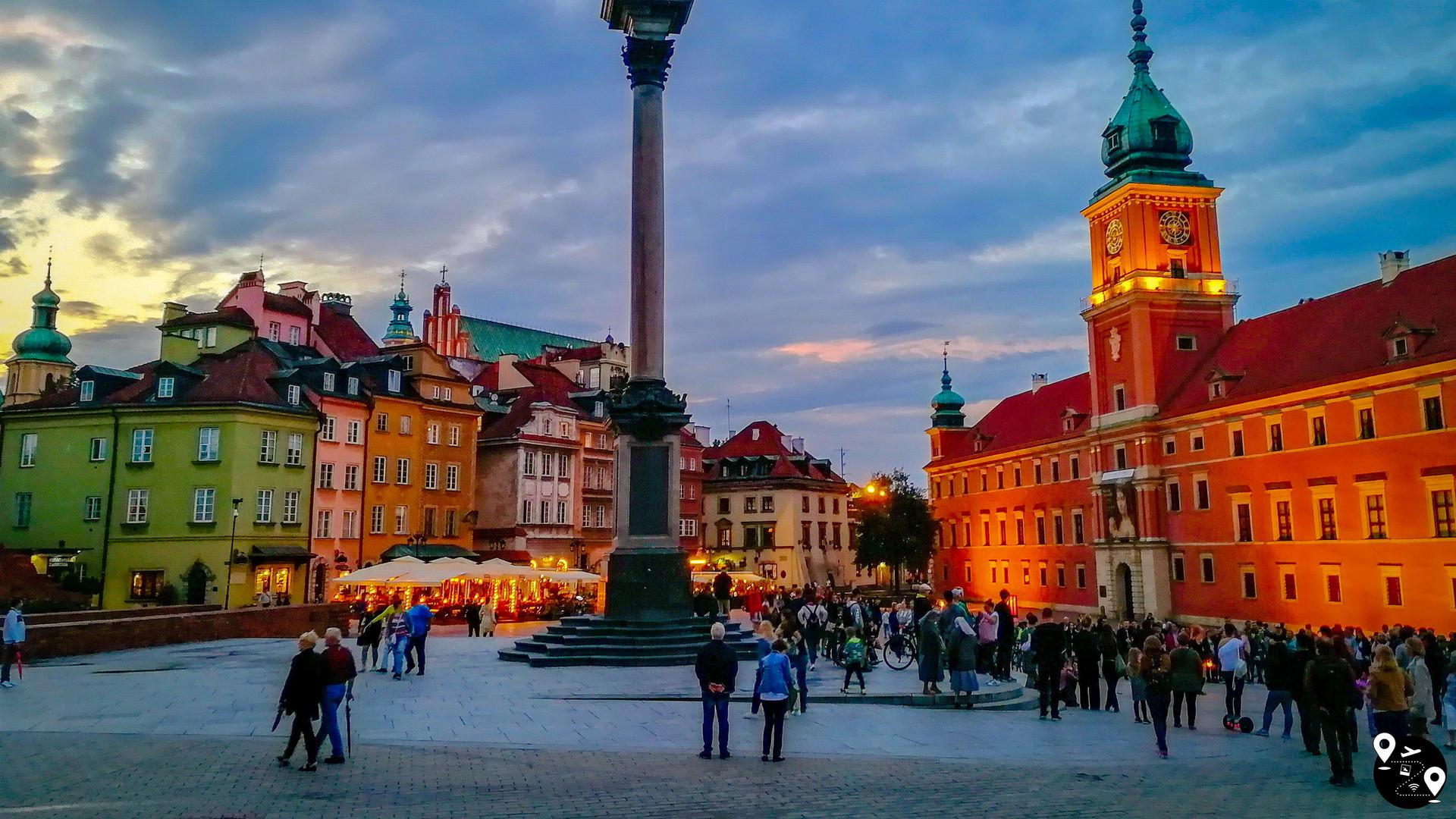Королевская площадь в Варшаве