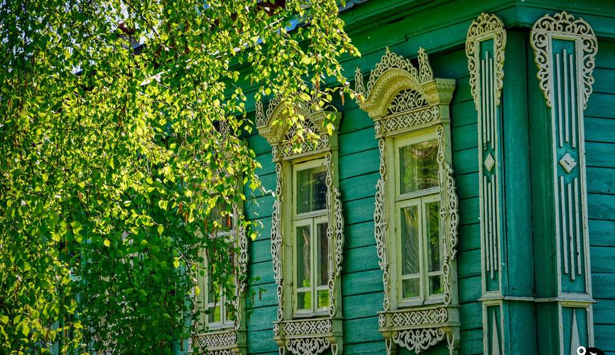 Деревянные наличники в Ивановской области