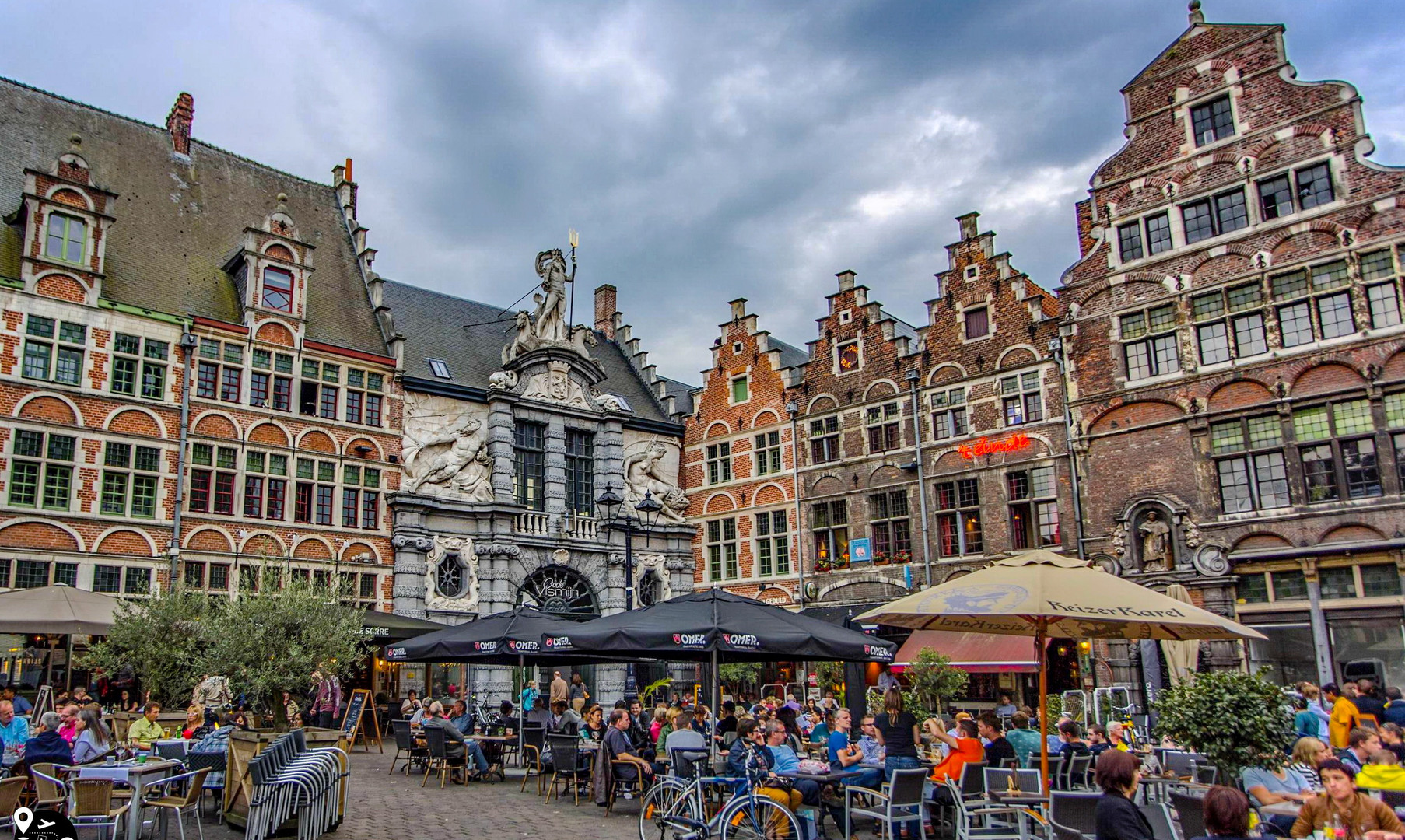 Центр города Гент