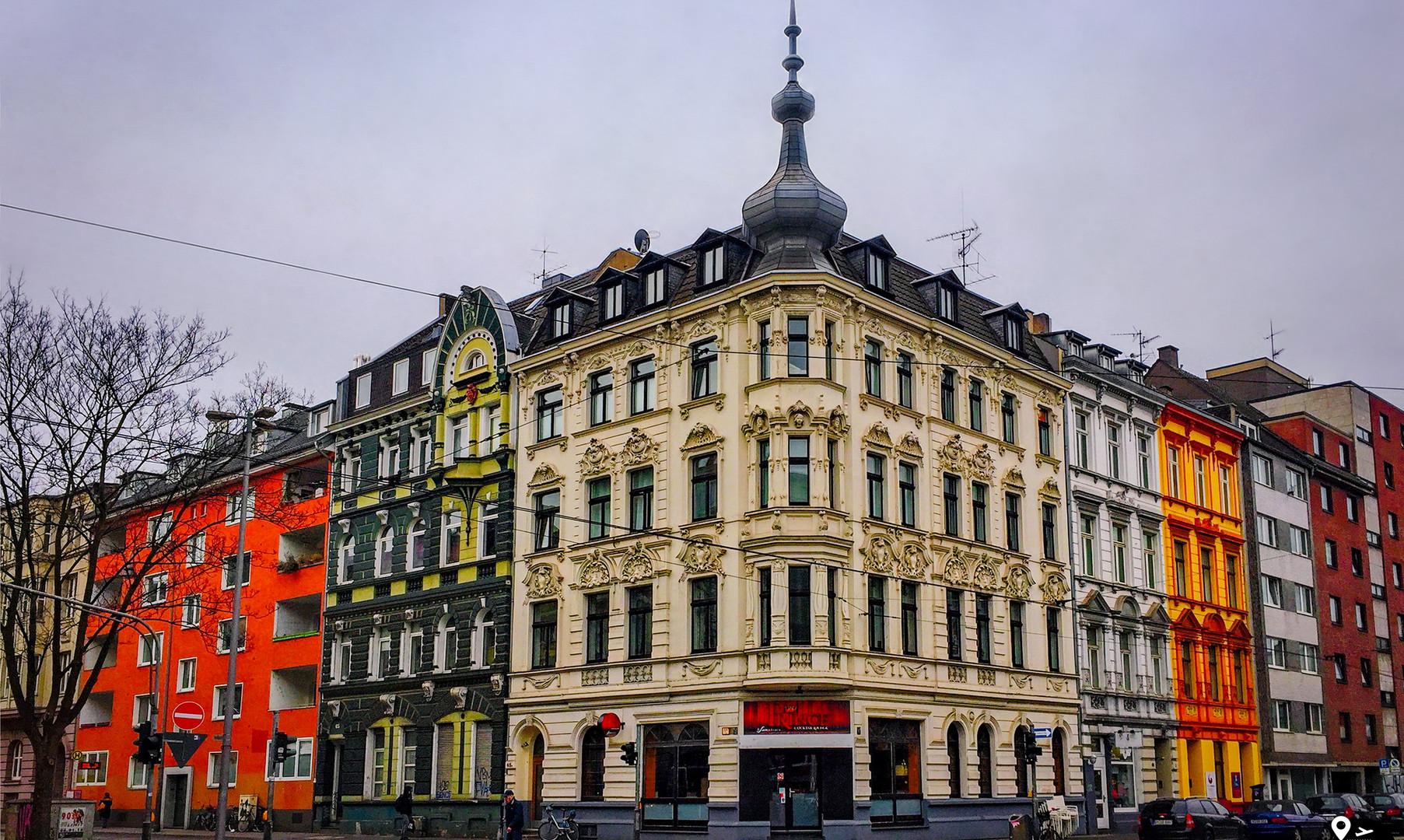 Центр города Кёльн