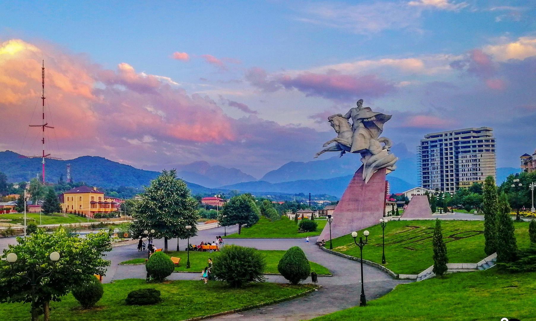 Площадь генерала Плиева, Владикавказ