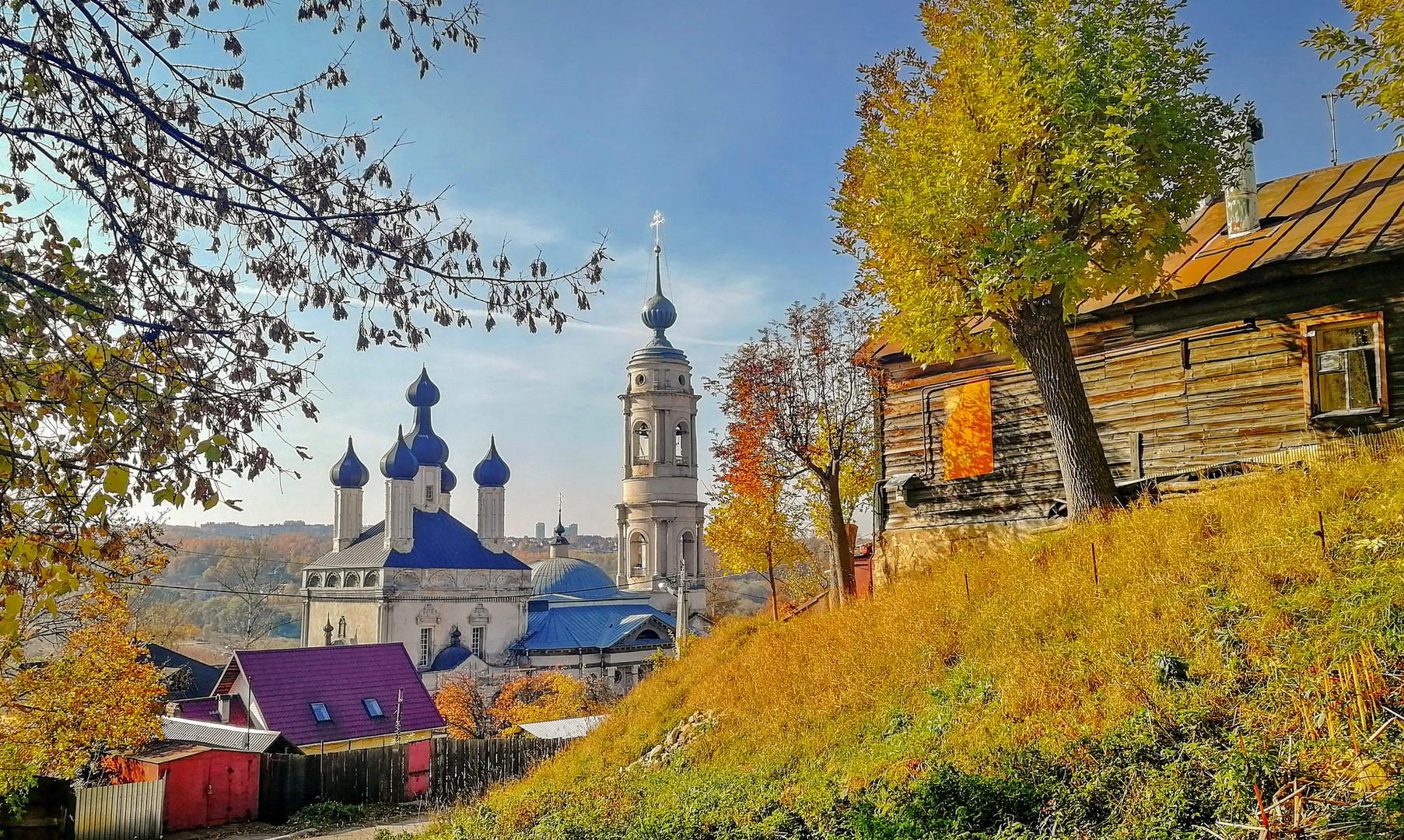 Казанский храм, Калуга