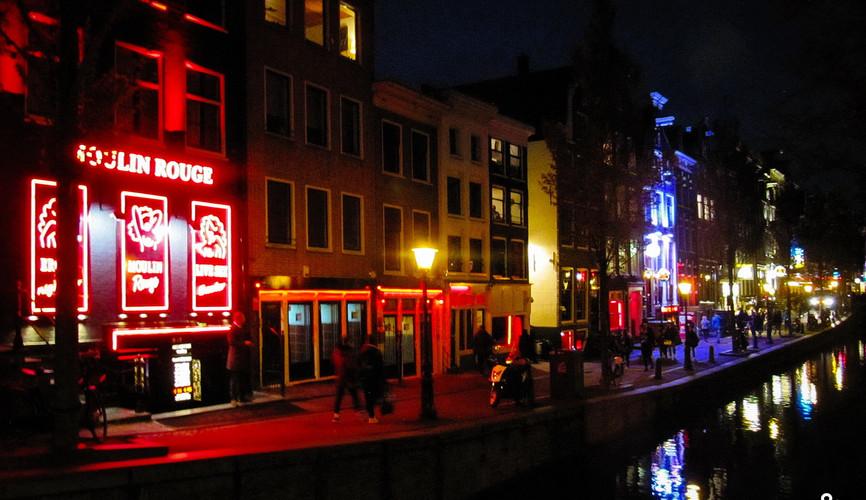 Квартал красных фонарей, Амстердам