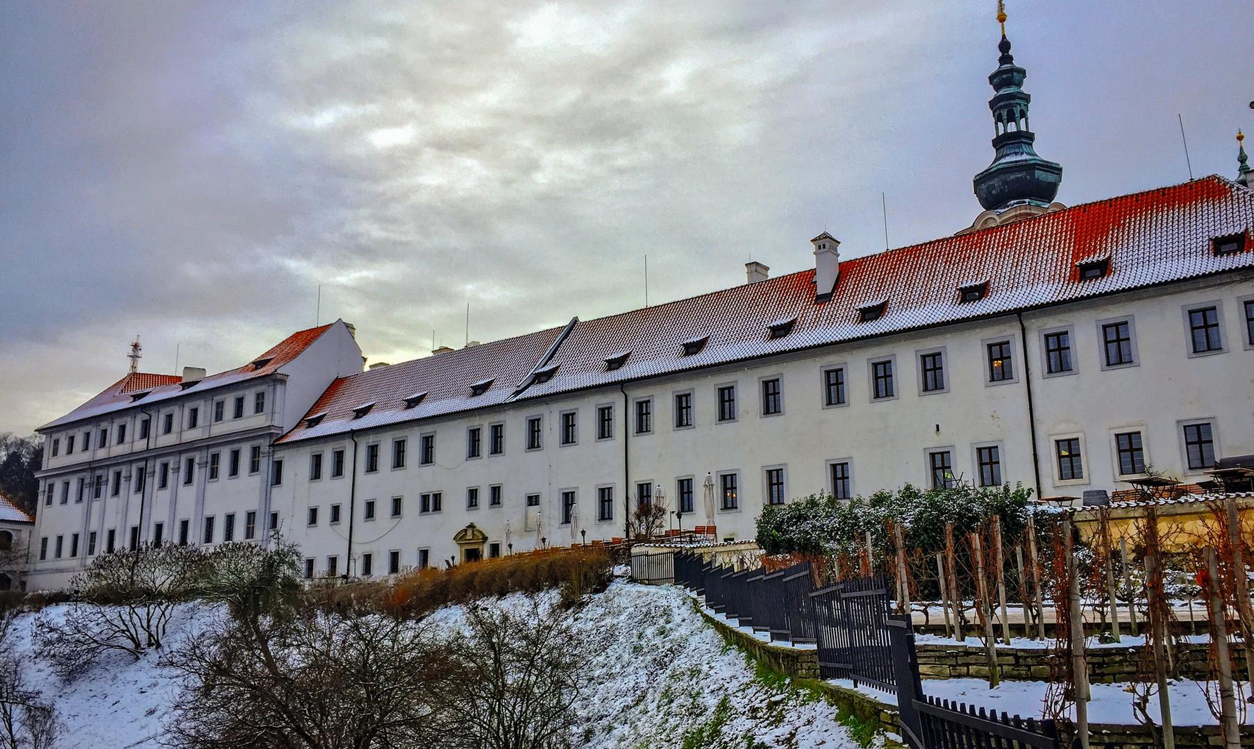 Страхов монастырь, Прага