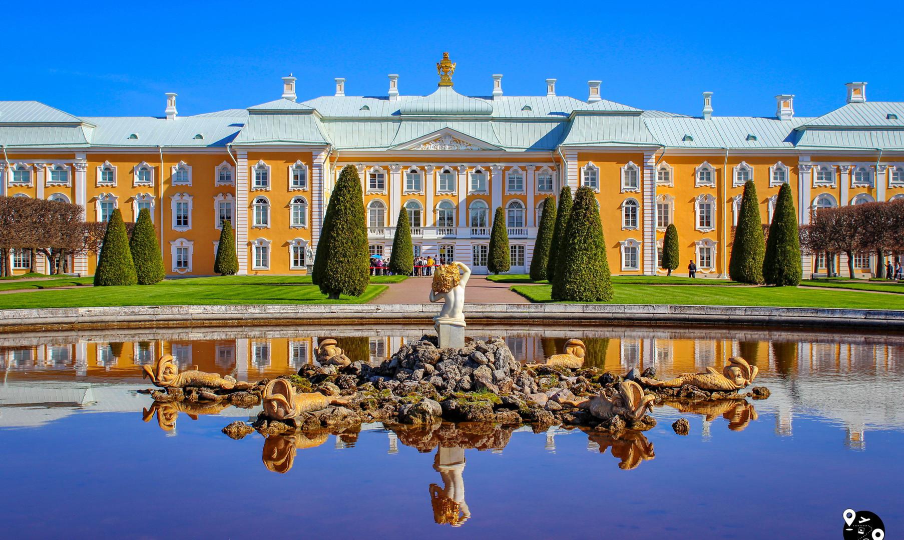 Большой Петергофский дворец, Петергоф