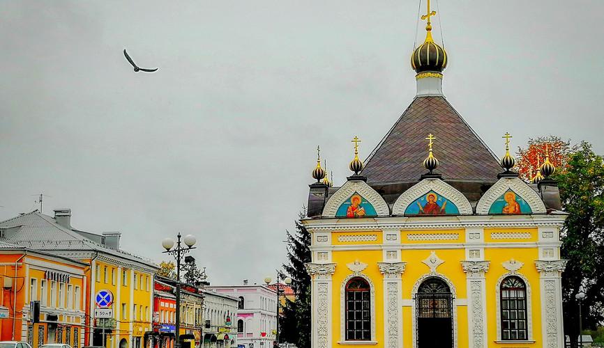 Никольская часовня, Рыбинск