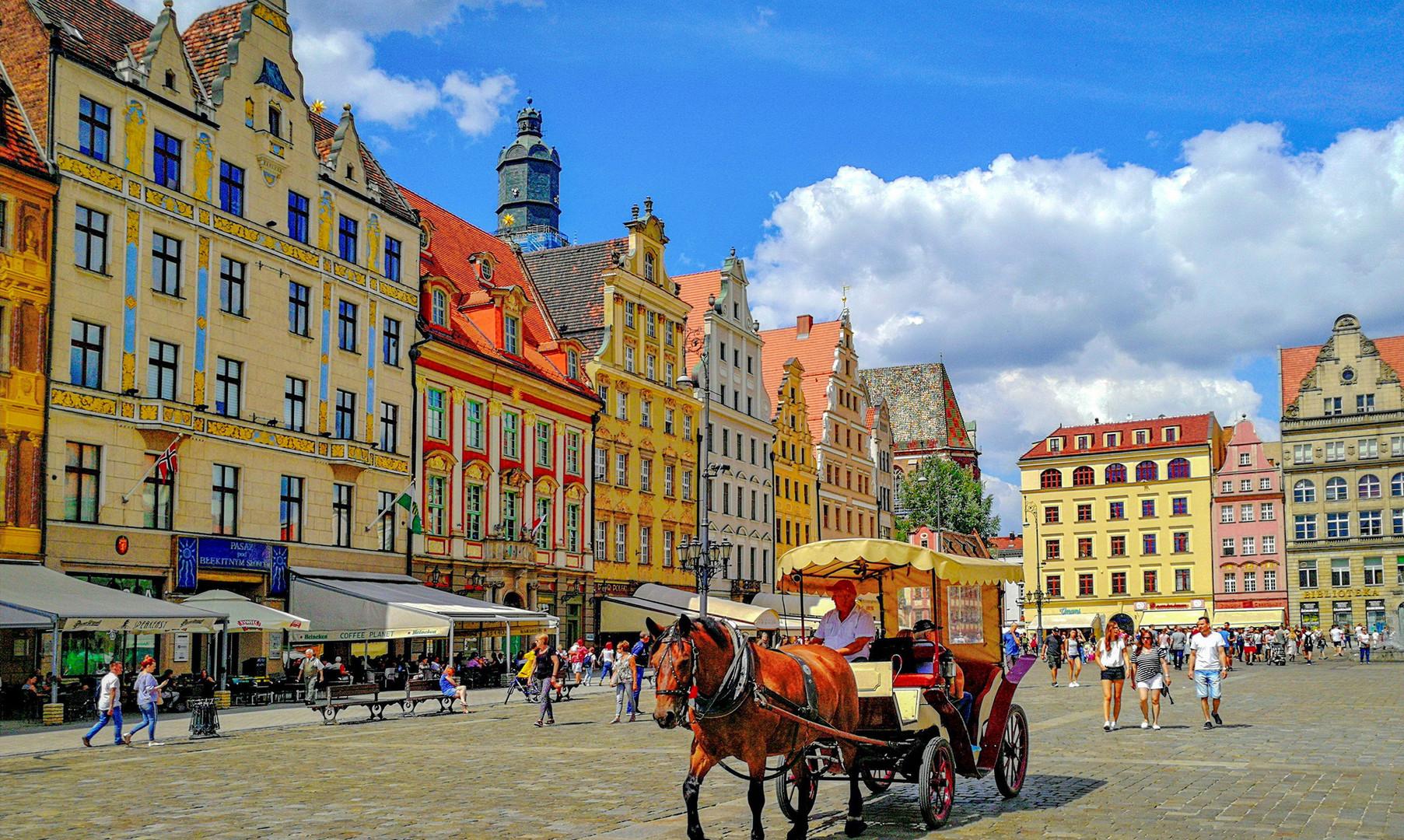 Рыночная площадь Вроцлава
