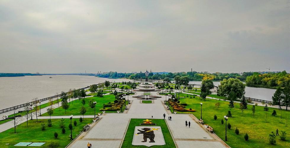 "Парк ""Стрелка"", Ярославль"