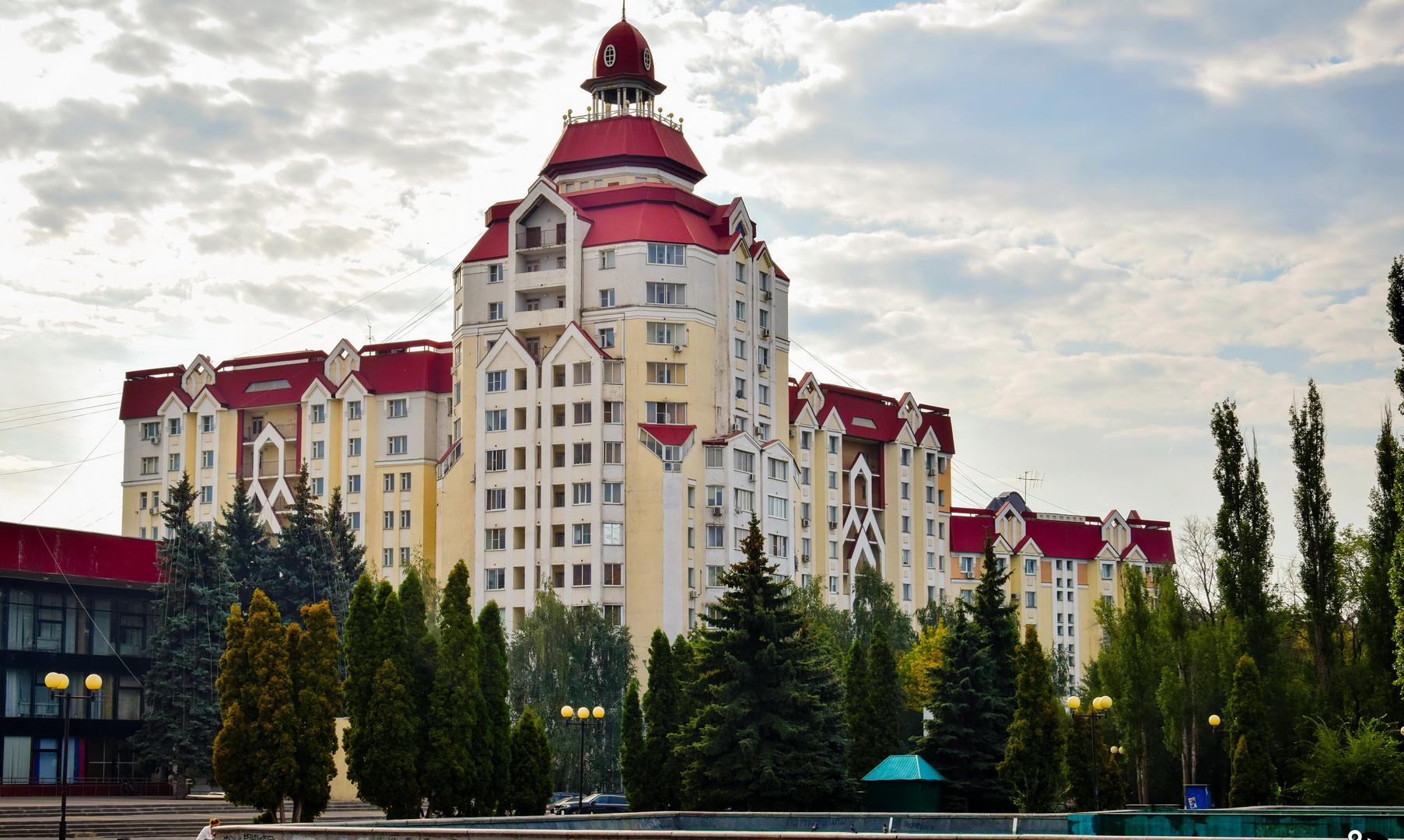 Центр города, Липецк
