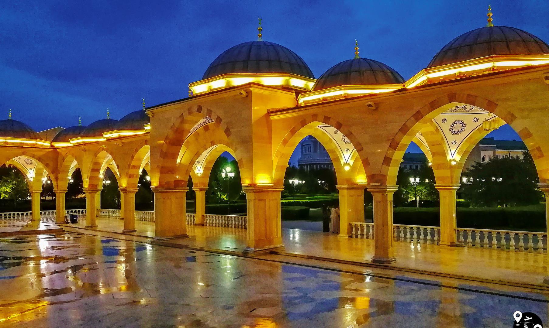 """Мечеть """"Сердце Чечни"""", Грозный"""