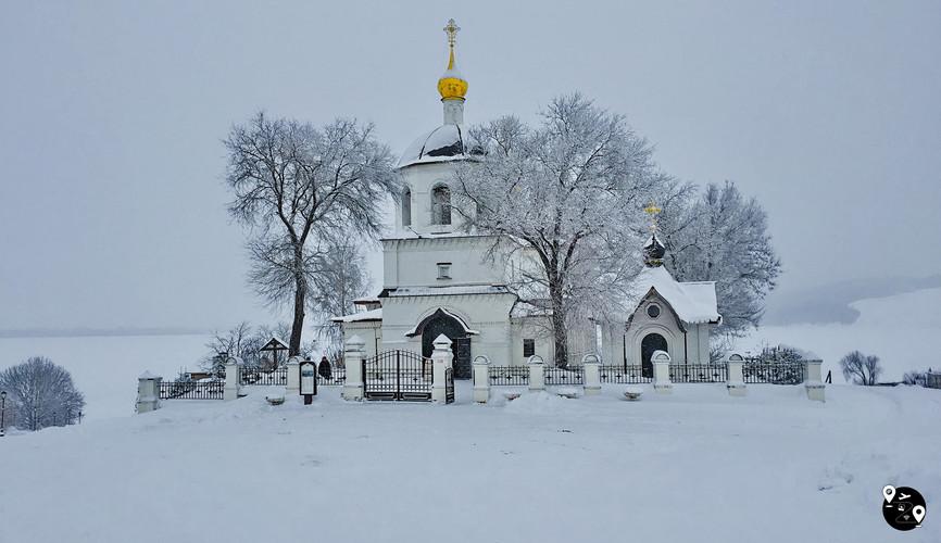 Константино-Еленинская церковь, Свияжск