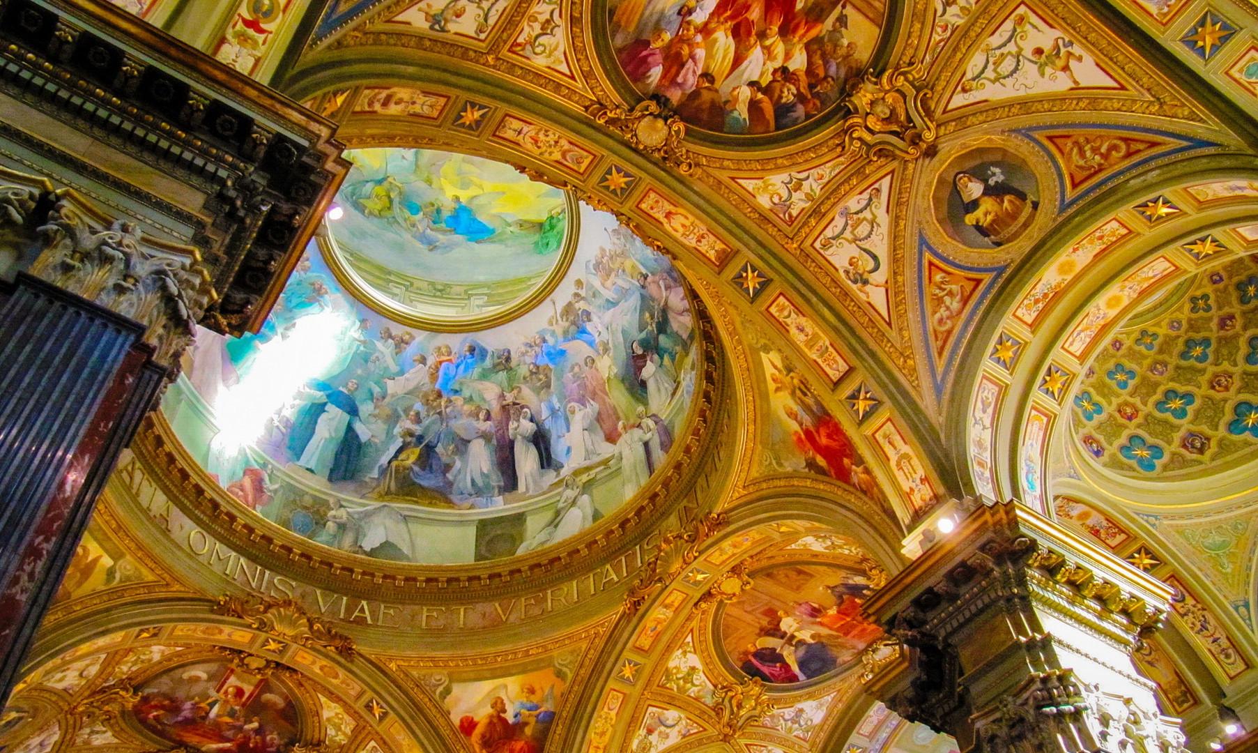 Церковь Девы Марии Розария, Помпеи