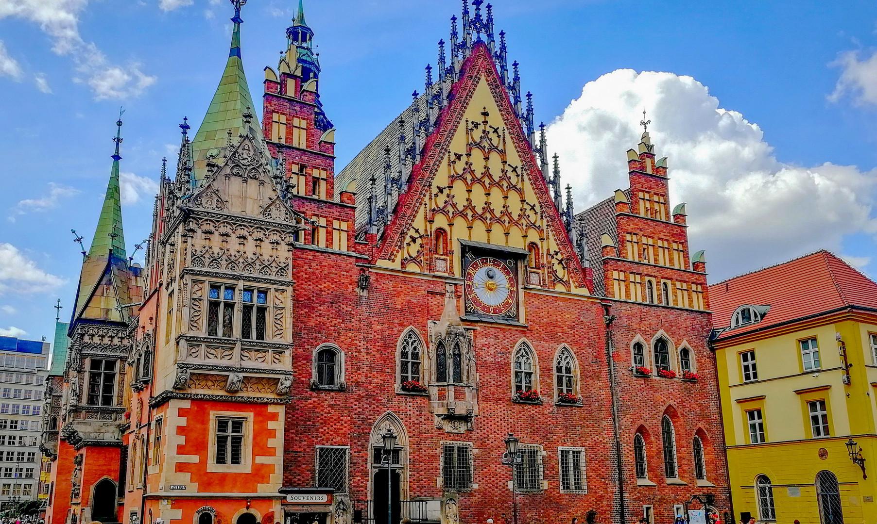 Старая ратуша Вроцлава