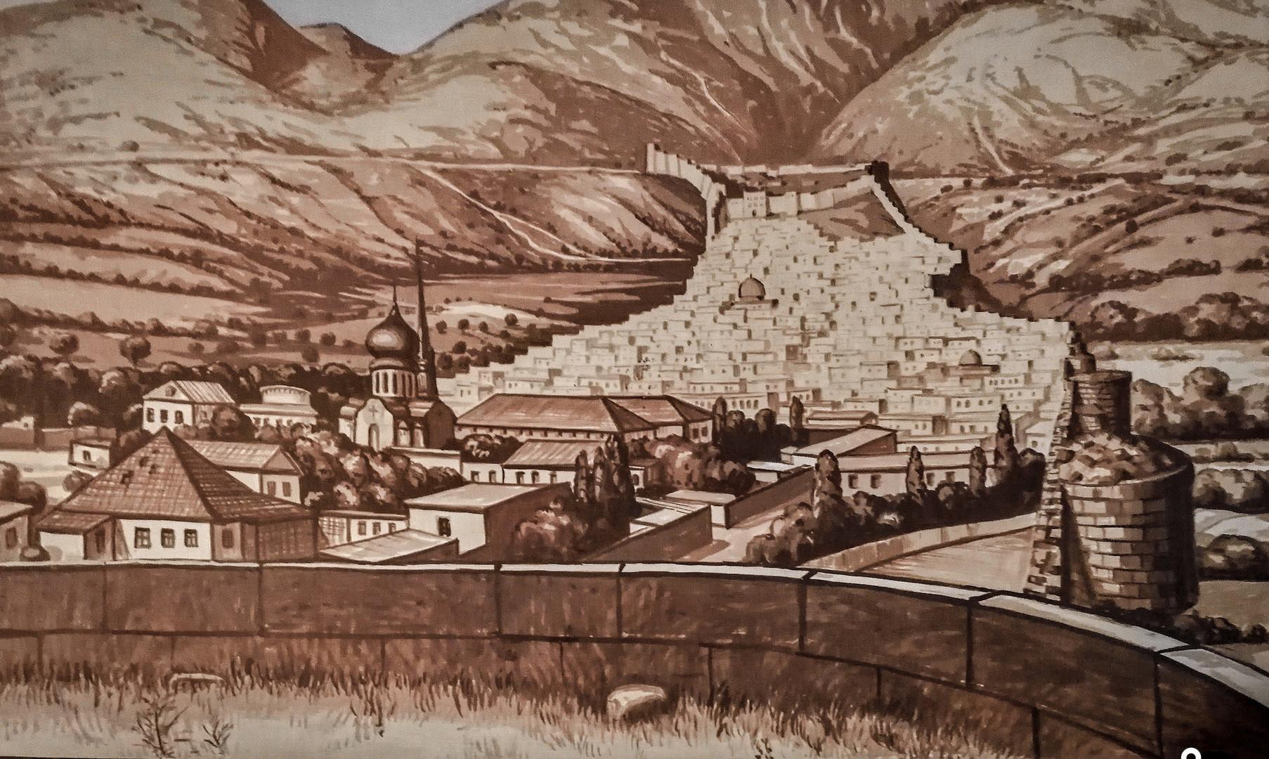 Изображение города Дербент