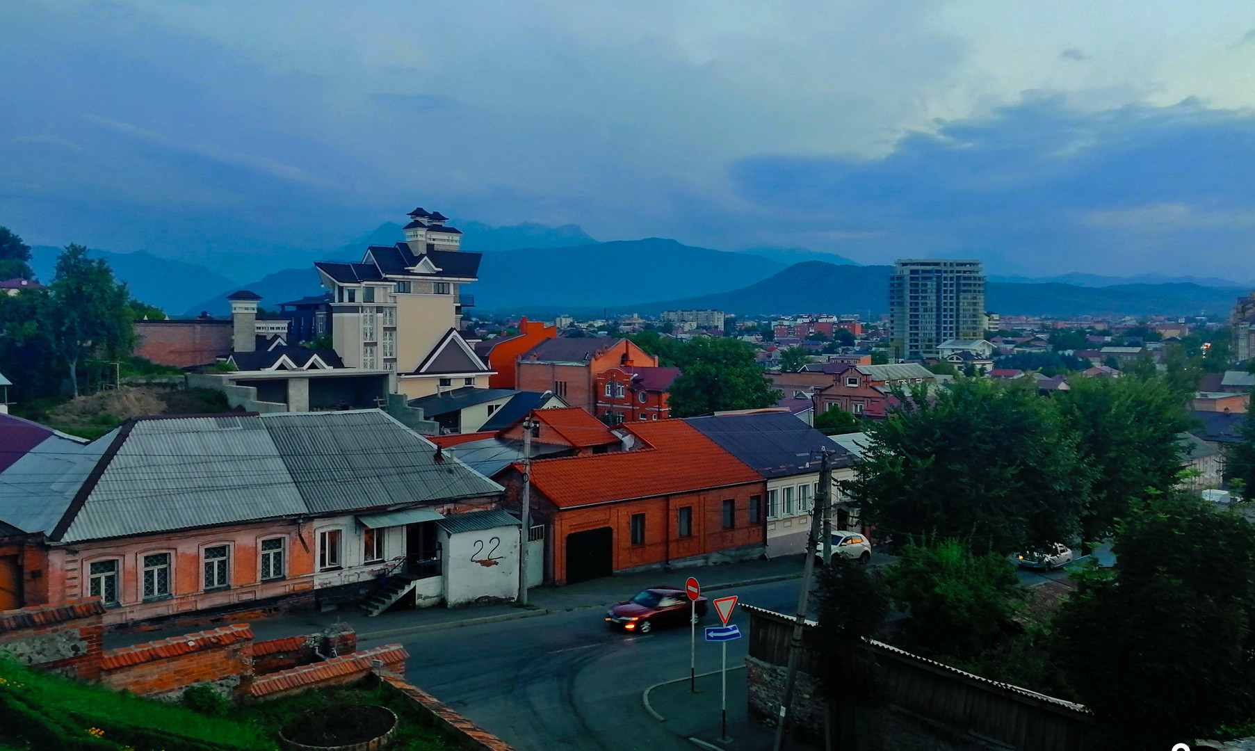 Жилые районы Владикавказа
