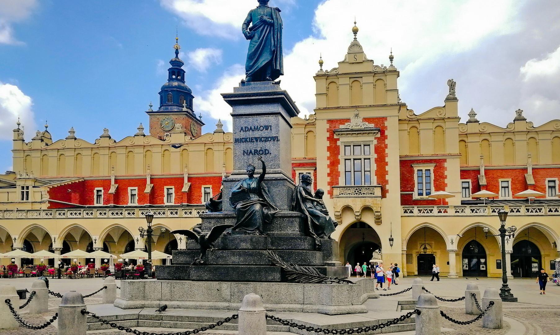 Центральная площадь Кракова