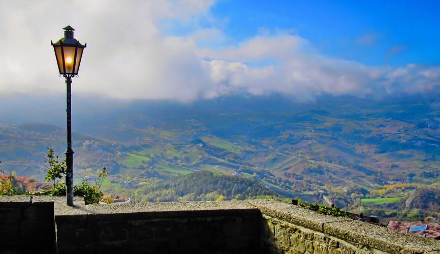 Пейзаж Сан-Марино