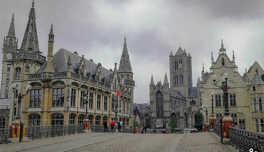 Мост Святого Майкла, Гент