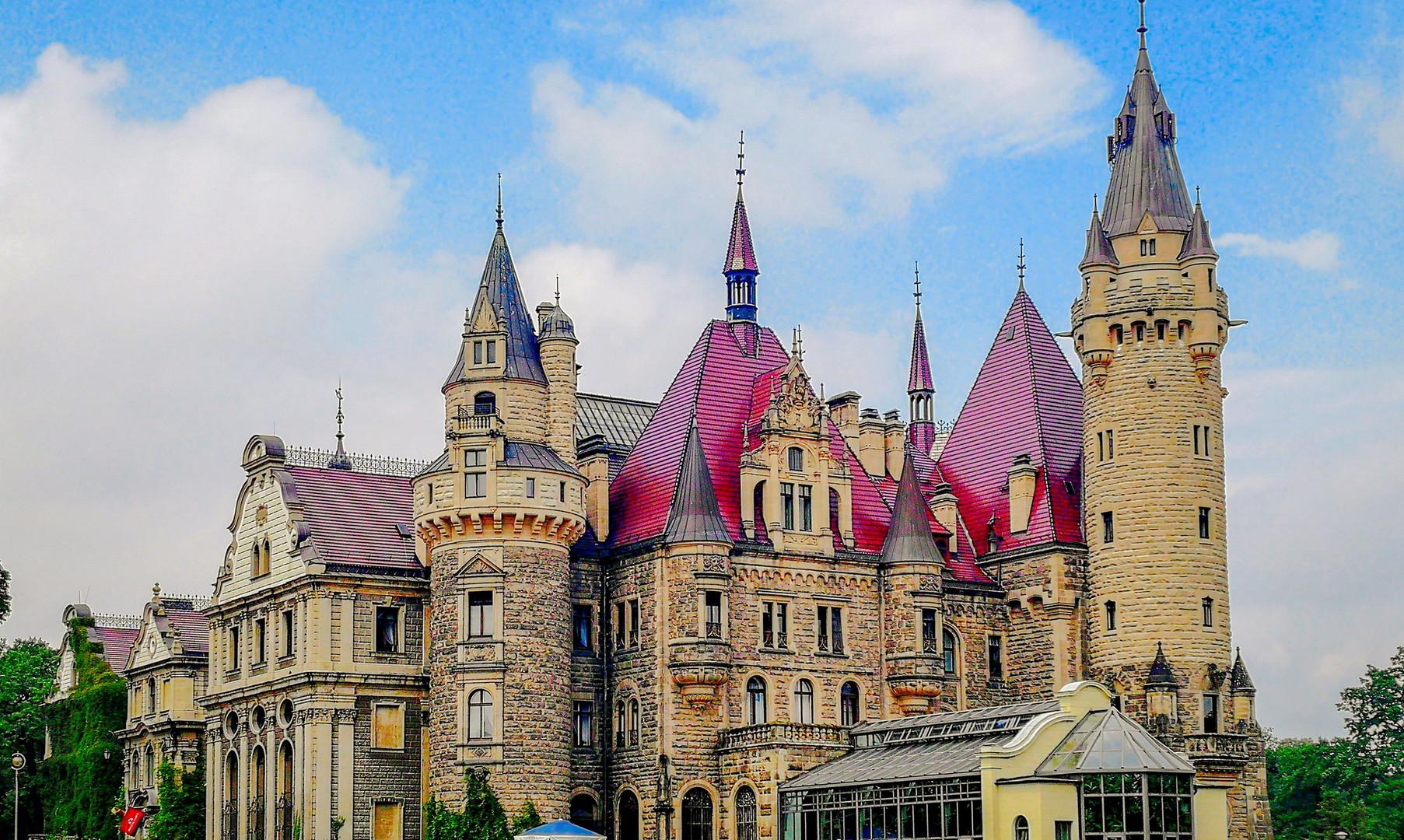 Мошненский замок, Мошна