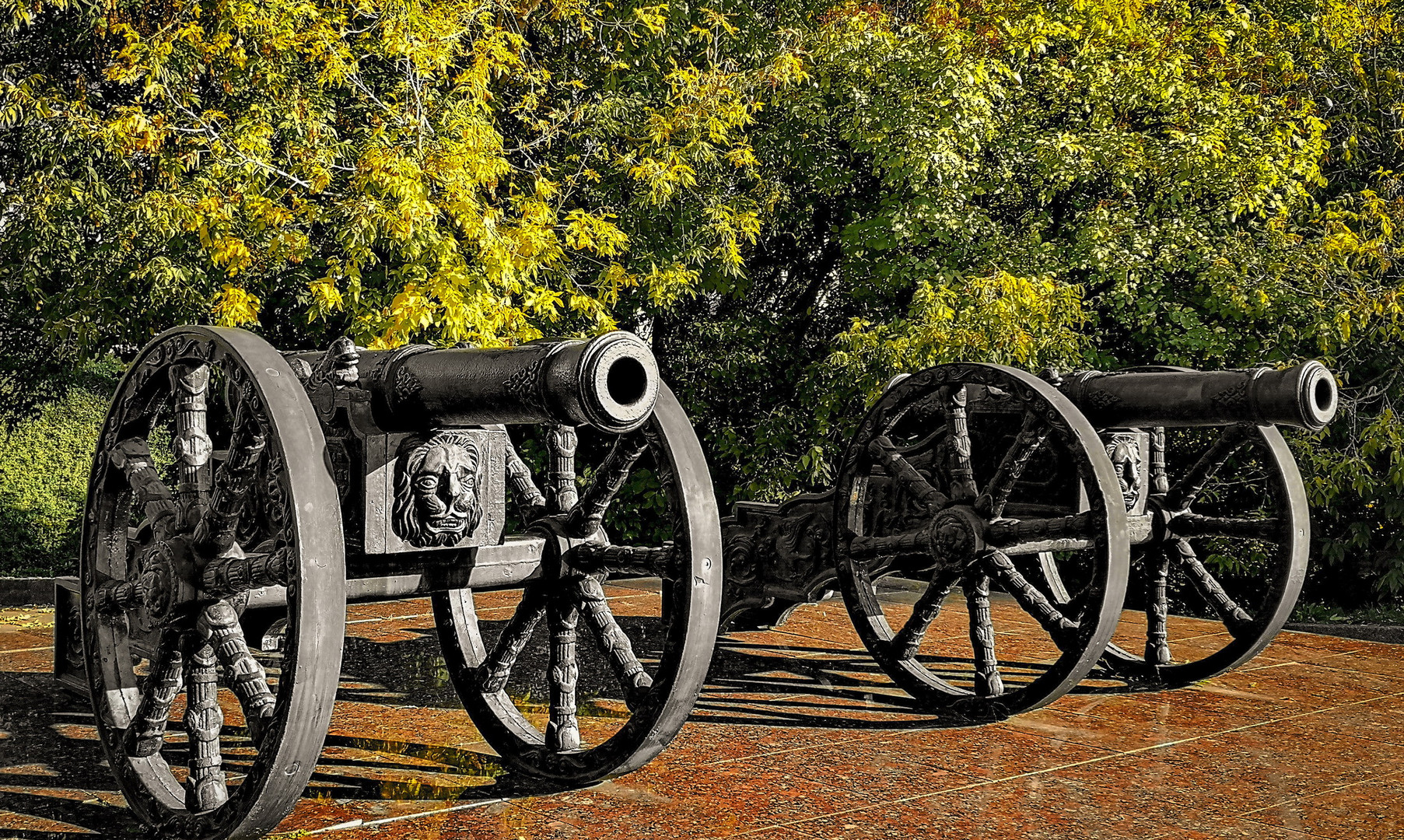Пушки на Прохоровской горе, Брянск