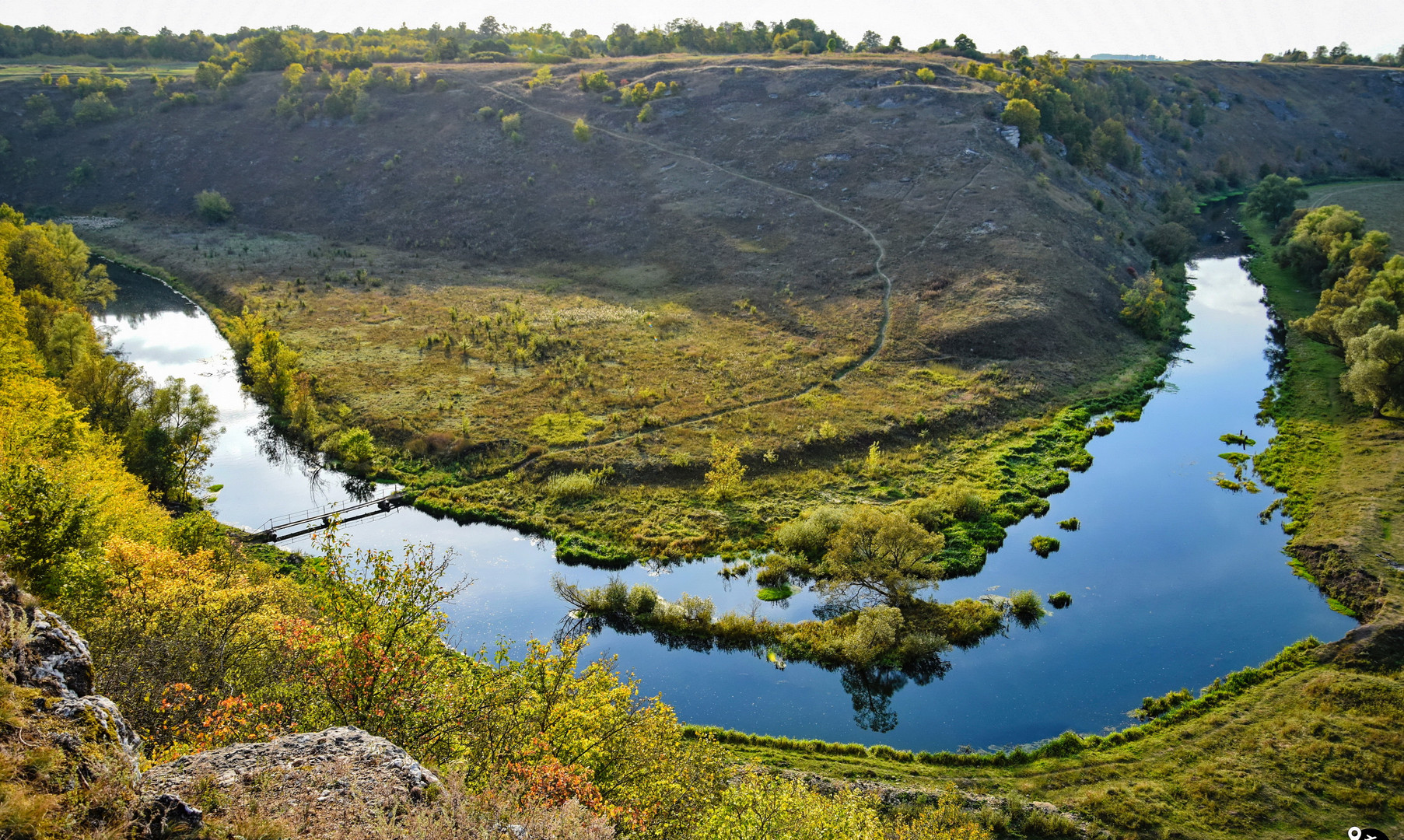 Река Воргол в Липецкой области