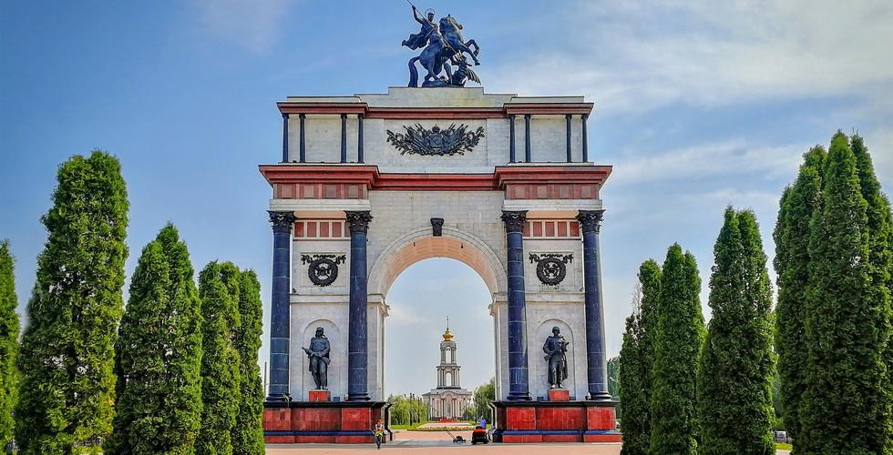 Триумфальная арка, Курск
