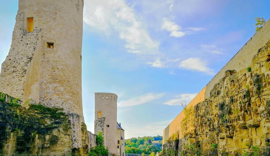 Башни крепости Люксембург