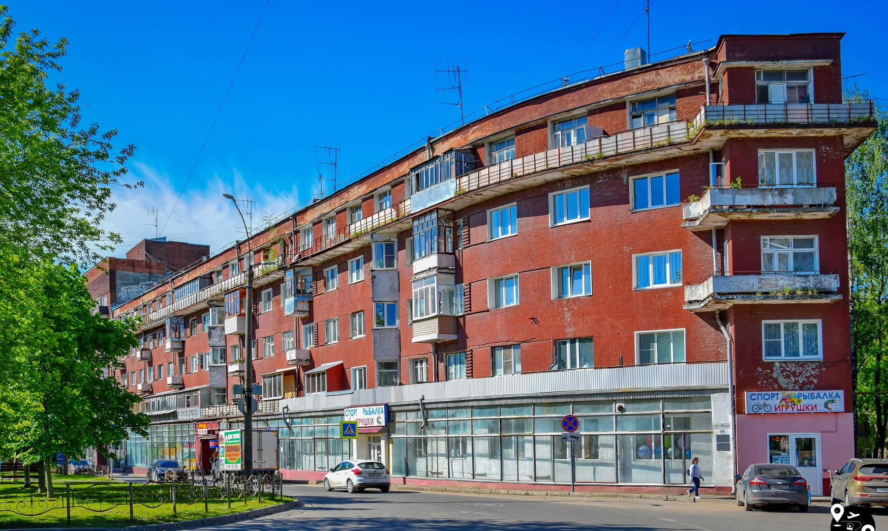 Дом-корабль на проспекте Ленина, Иваново