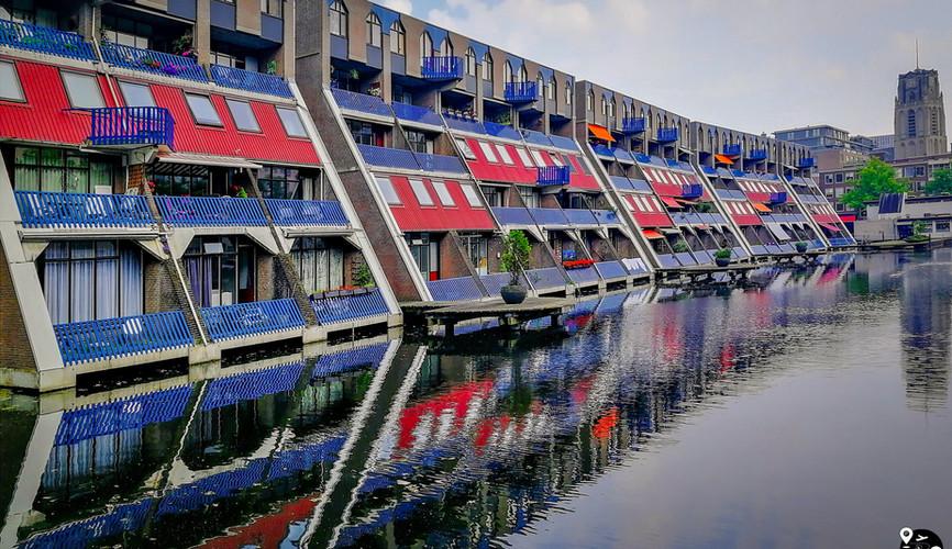 Жилые дома в Роттердаме